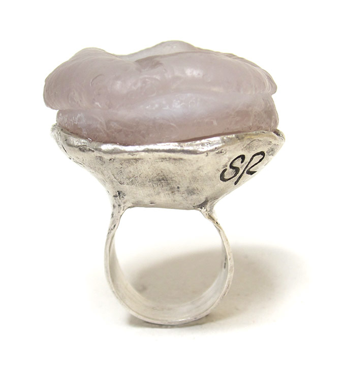 chalcedony donut ring susan ritter