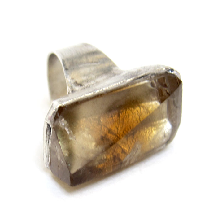 raw citrine ring susan ritter