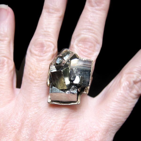 pyrite cube ring susan ritter