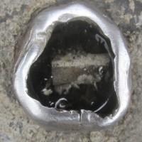 worn metal